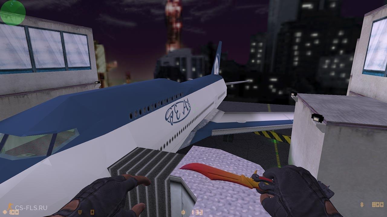 Нож бабочка — мраморный градиент для кс 1. 6 » новые модели оружия.